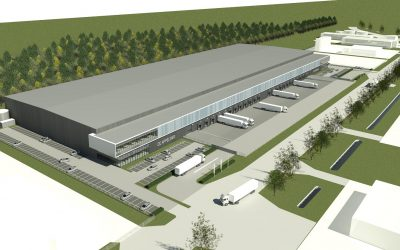 Heembouw en Exeter Property Group bouwen 28.000 m² distributiecentrum Moerdijk.