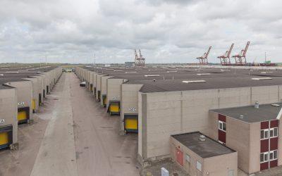Nieuw in de portefeuille, 14.000 m² logistieke bedrijfsruimte  in de Amsterdamse Haven.