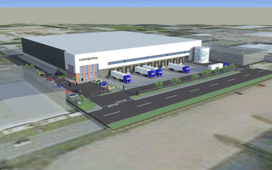 Nieuw in de portefeuille: ontwikkeling 9.500 m² DC in Tilburg