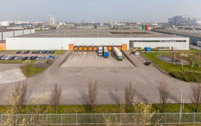 Menlo Worldwide Logistics huurt ruim 15.000 m² logistieke bedrijfsruimte in Amsterdamse haven