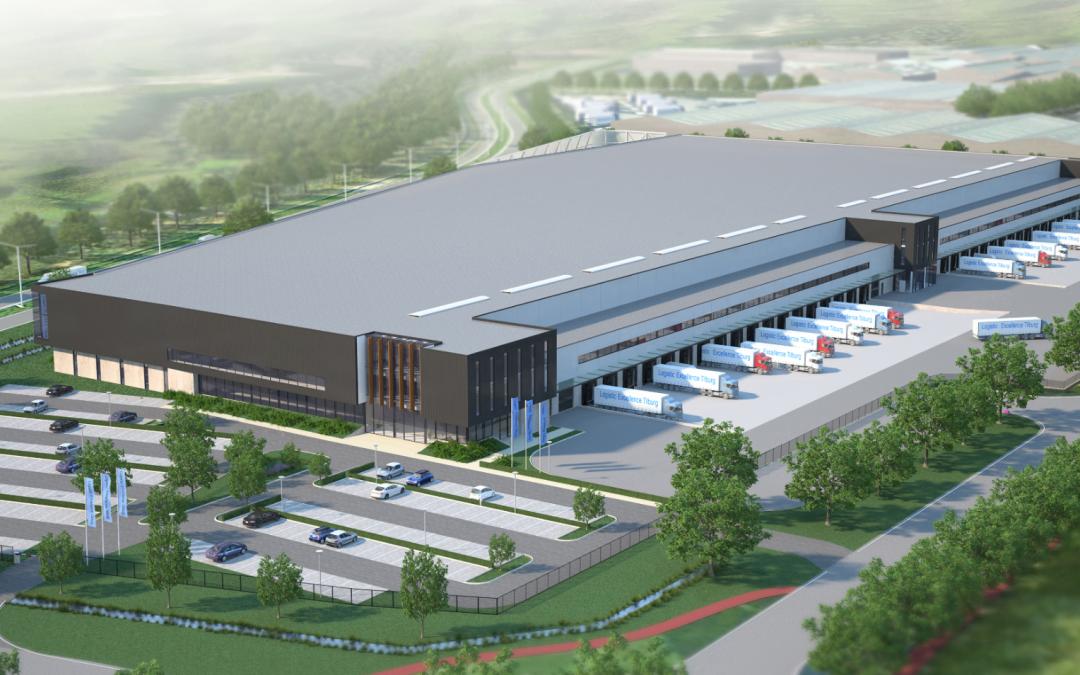 Remmers Bouwgroep start met de ontwikkeling van 36.000 m² distributiecentrum Tilburg