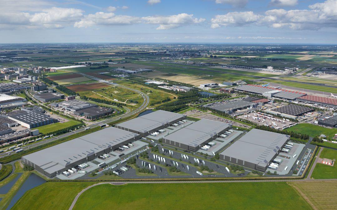 1e fase van Green Mountains Logistics Park, 30.000 m², volledig verhuurd