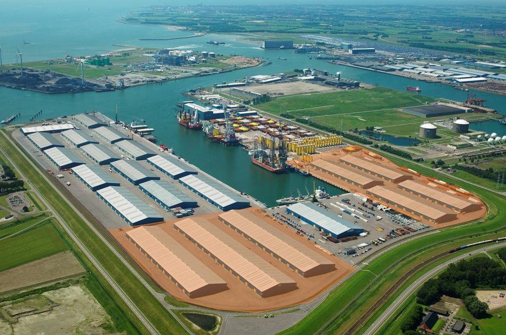 TE HUUR: circa 180.000 m² bedrijfsruimte in de haven van Vlissingen