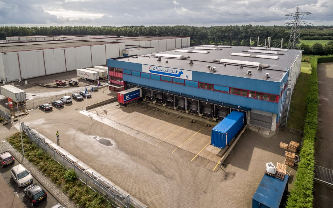 4,100 sq. m. logistics building leased at Distripark Eemhaven Rotterdam
