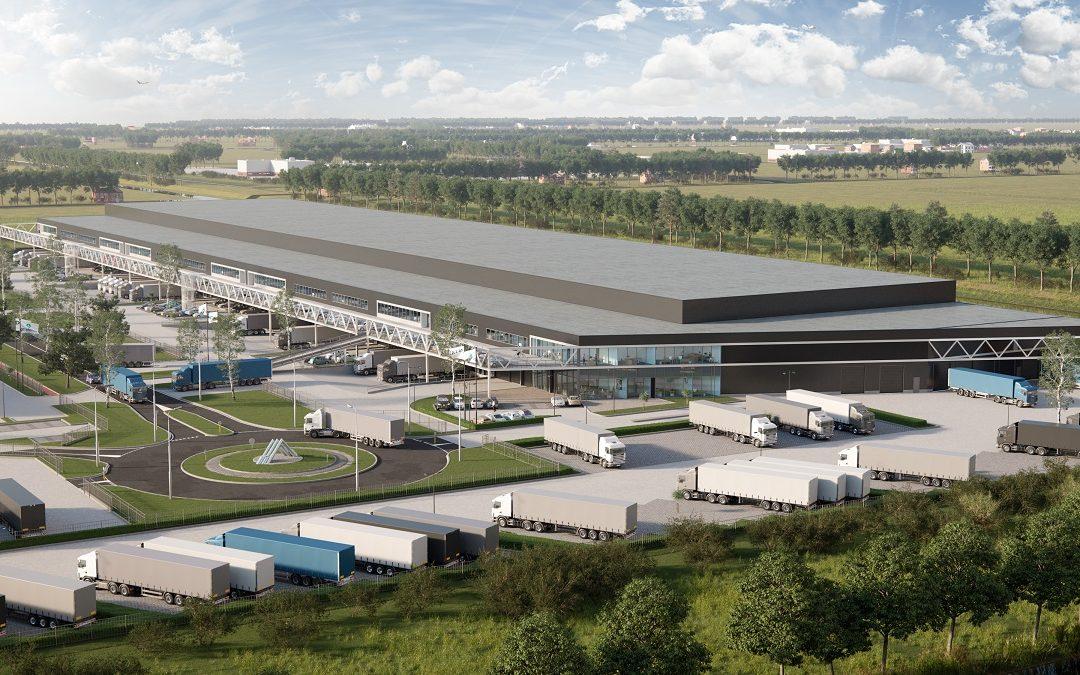 Rutges Cargo en J.M. Logistics huren 6.000 m² op AMS Cargo Center II Schiphol Logistics Park