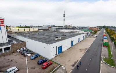 Lime Network leases approx. 4.700 sq m warehouse space in Rotterdam.