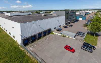 Mitsubishi sells 32,500 sq m industrial estate in Almere.