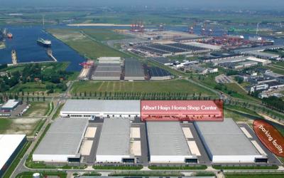 Delin start de herontwikkeling van 20.000 m² distributiecentrum voor Albert Heijn
