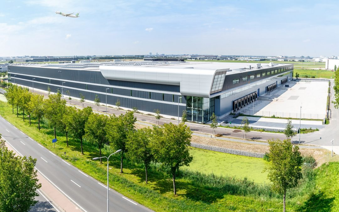 BBV leases 6,600 sq. m. logistics space from Delin Capital Asset Management at Fokker Logistics Park Schiphol.