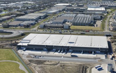 Borghese en LOGISTIS lease 5,000 sq. m. to Rapid Logistics at Green Mountains Schiphol
