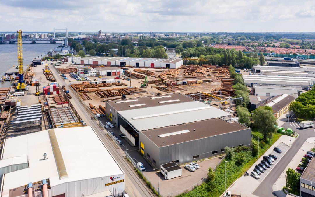 KWINT Offshore huurt 1.300 m² bedrijfsruimte in Dordrecht