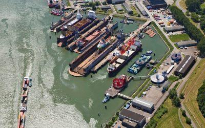 Hebo Maritiem acquires shipyard of Damen Shipyards in Rotterdam Pernis