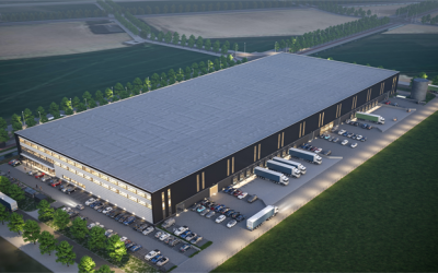 Borghese Logistics acquires 3.2 ha of land at the Distripark business park in Dordrecht