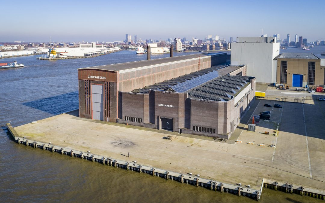 Vivar Ship Supply huurt 12.800 m² bedrijfsruimte en 95 meter kade op RDM terrein Rotterdam